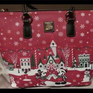 Disney Dooney & Bourke Christmas Holiday 2019 Tote